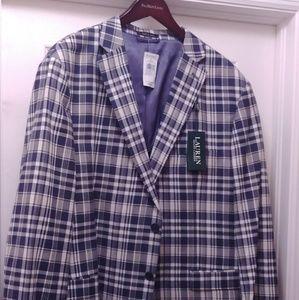 NEW Ralph Lauren Men's 100%Cotton Blazer Jacket